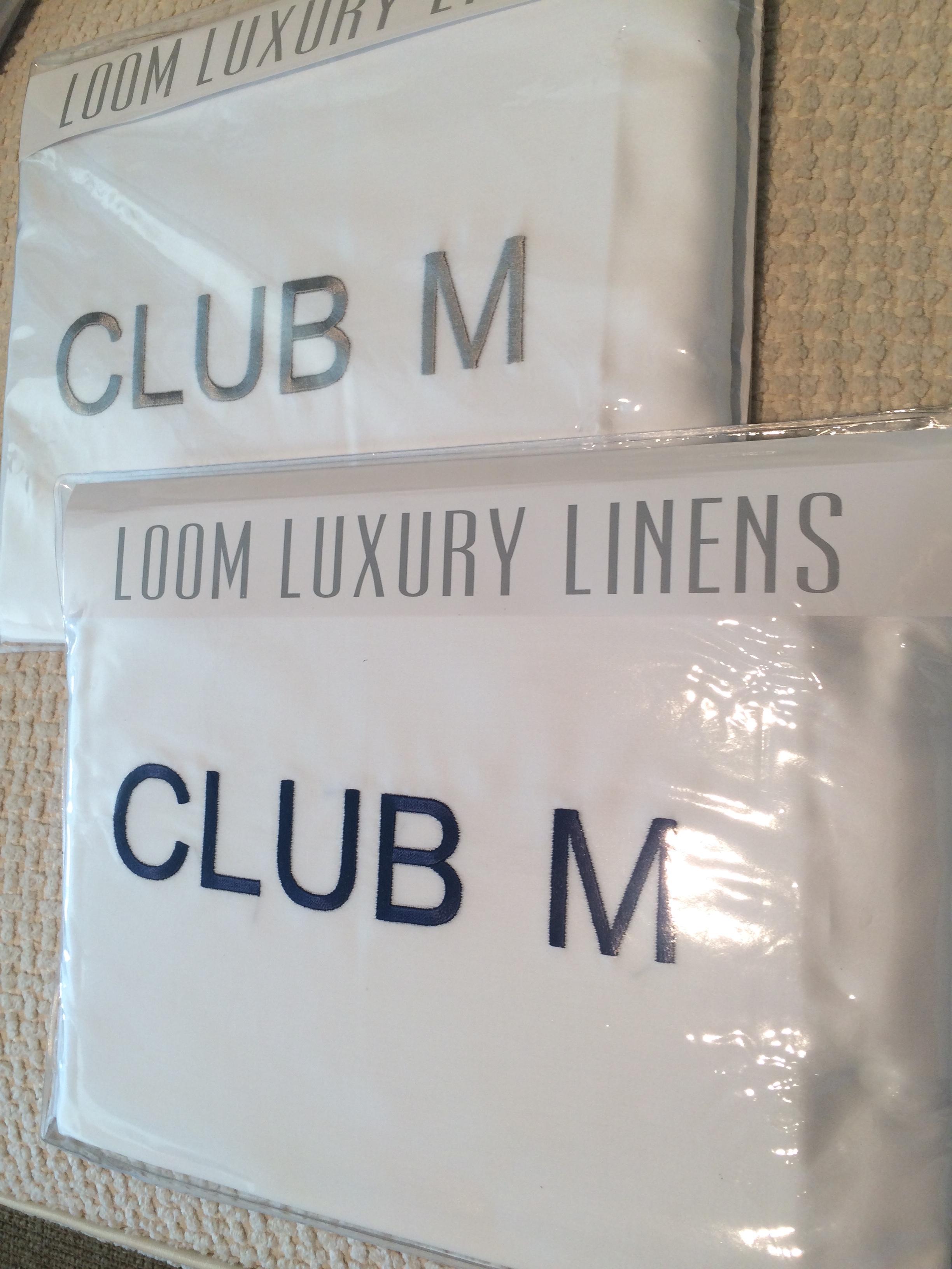 Custom Monogrammed Sheets