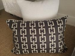 Modern exterior cushions