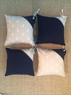 Custom made exterior throw pillows