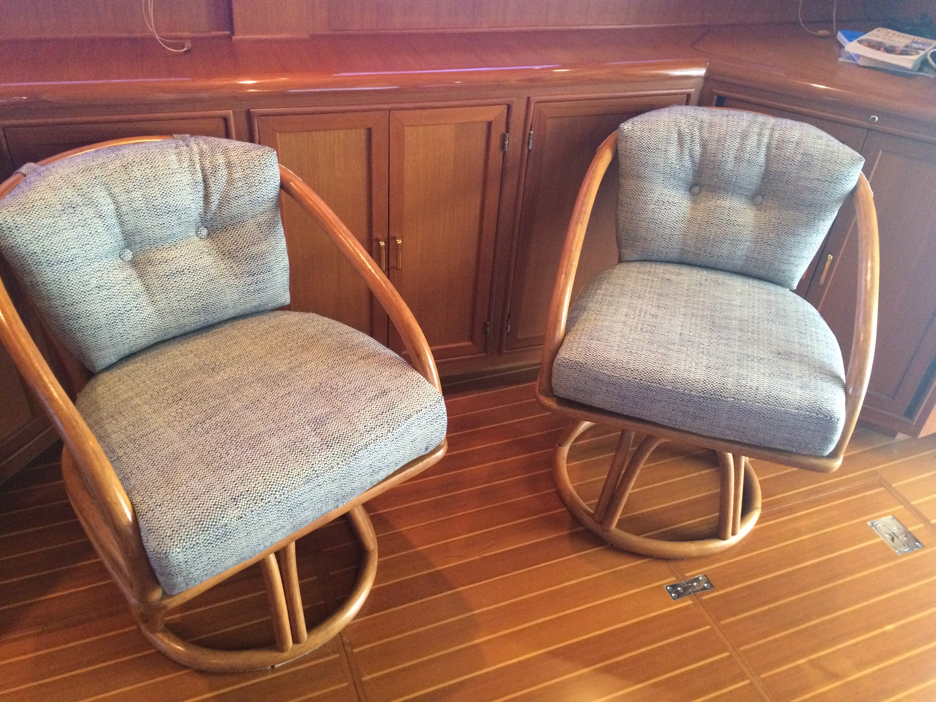 Herringbone chairs