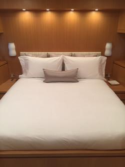 clean, crisp bedding