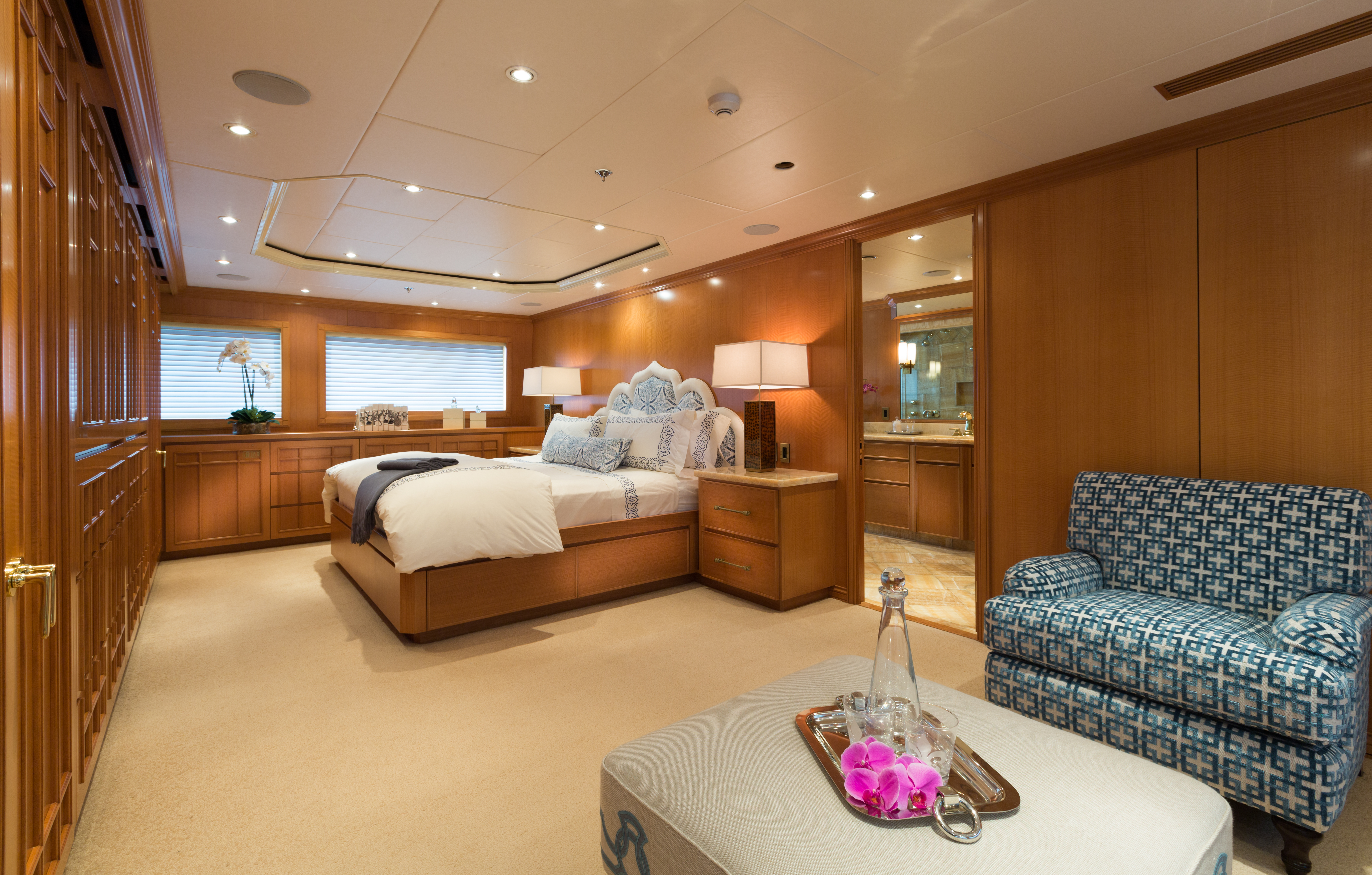 Tranquil master stateroom