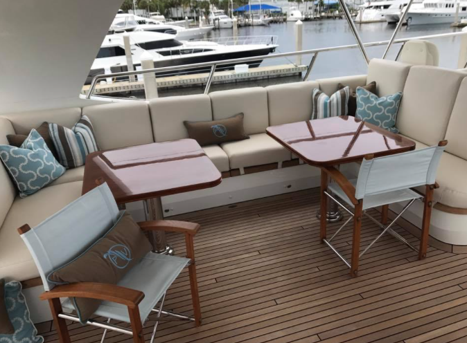 refit exterior dining space