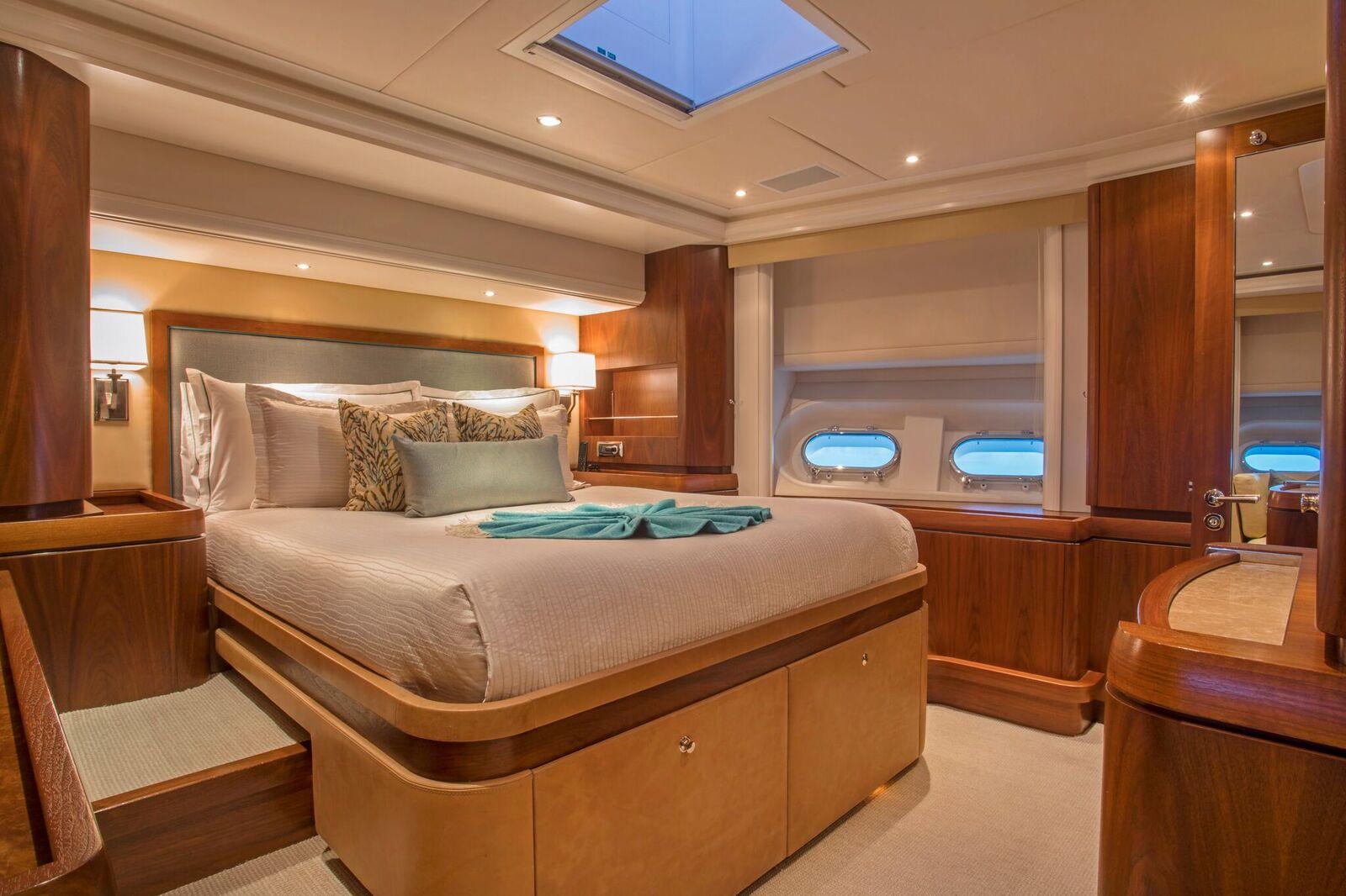 VIP linens and headboard