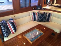 Nautical interior/ exterior throw pilows