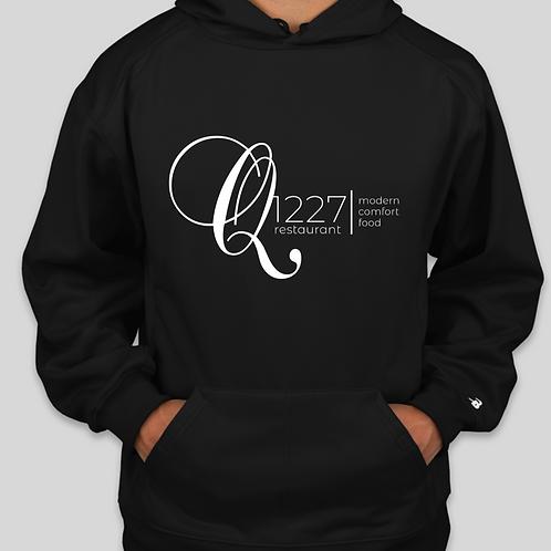 Q1227 Black Hoodie