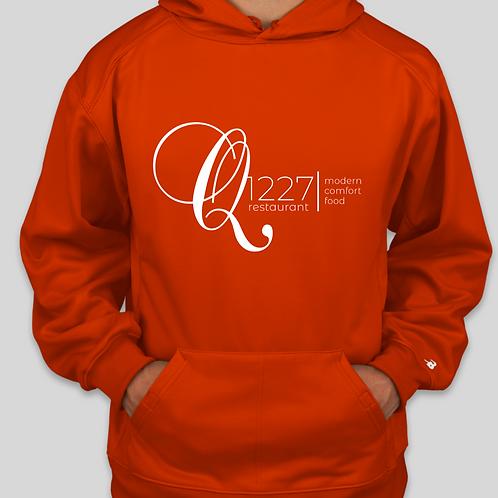 Q1227 Orange Hoodie