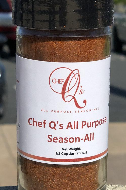 Chef Q's All Purpose Season-All
