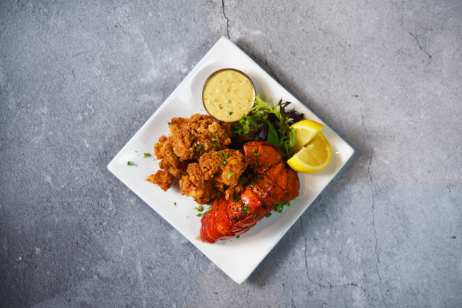 Chicken Fried-Lobster bites