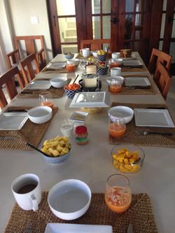 Progression Session breakfast