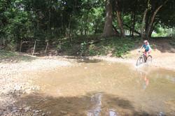 River in rainy season