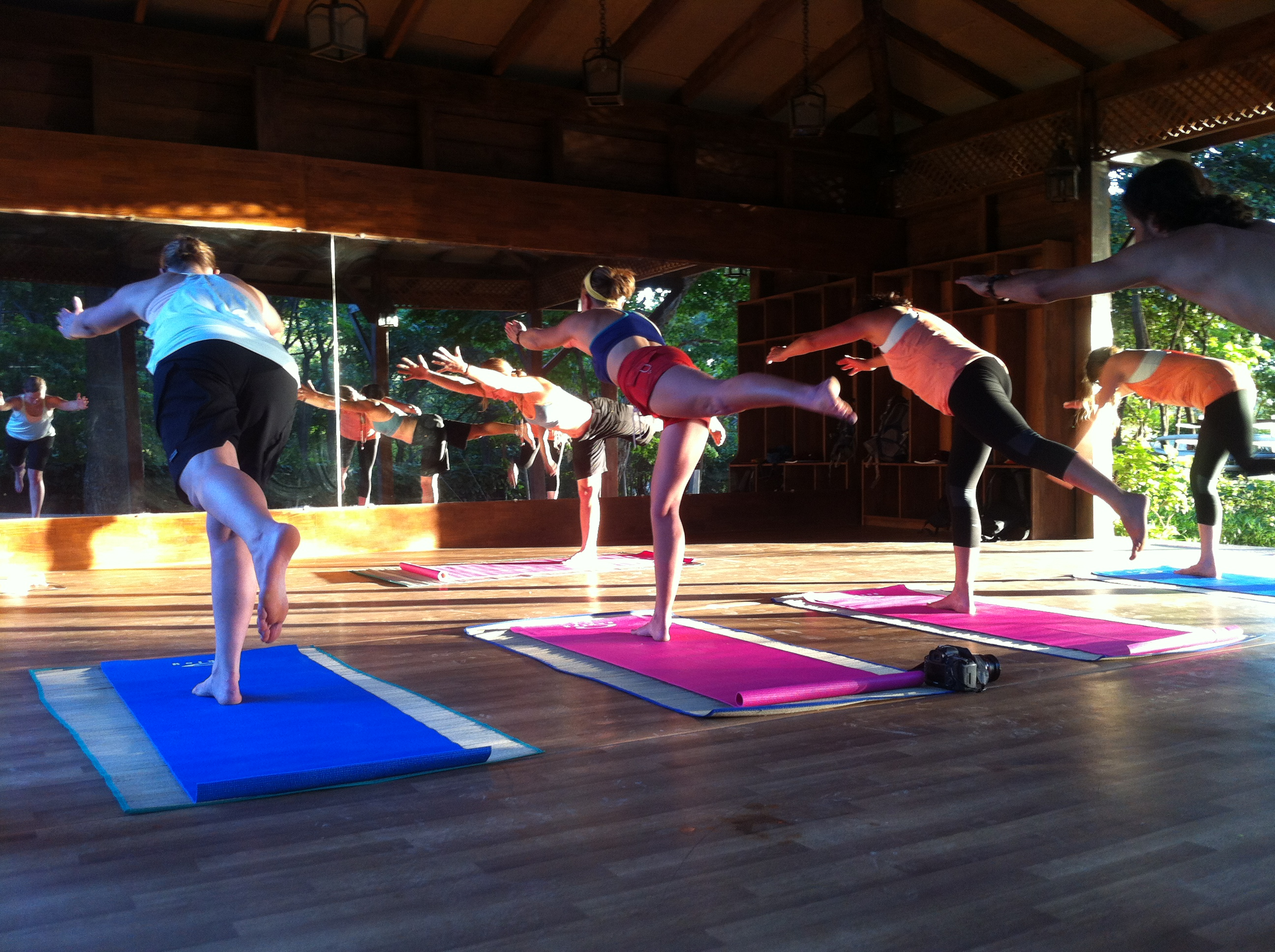Yoga and mountain bike holidays