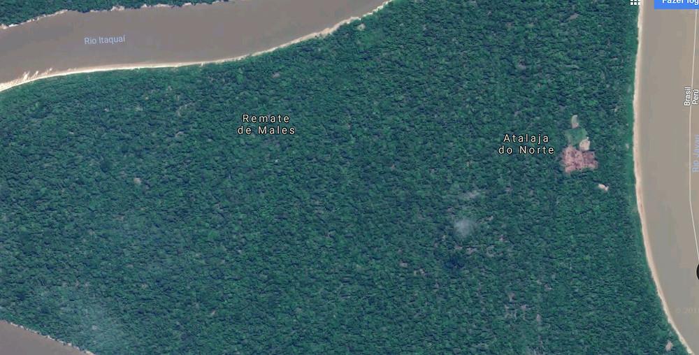 Na esquina da Amazônia