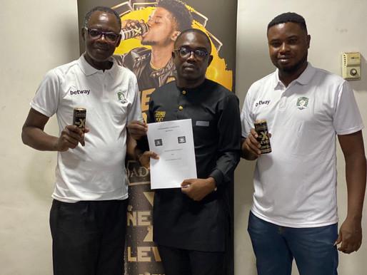 Aduana Stars announce partnership with Adonko Next Level Energy Drink
