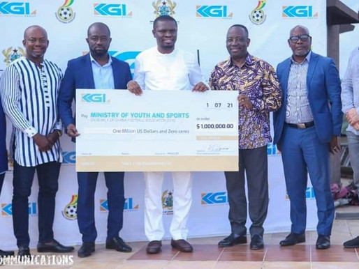 KGL Group heeds President Akufo-Addo's call: Supports National Teams with $1 million