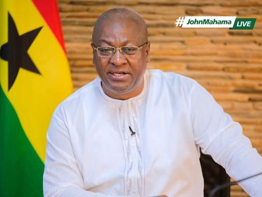 John Dramani Mahama congratulate Speaker Alban Bagbin