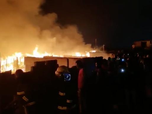 Fire guts part of Kantamanto market