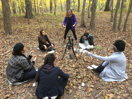 Directing in the Forest Shoot