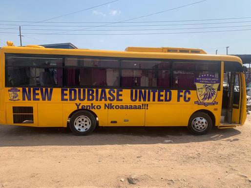 New Edubiase unveil new bus ahead of new season