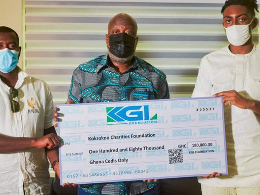 KGL Foundation Supports Charity Organizations in Ghana