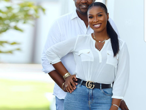 John Dumelo's wife breaks silence after loss to Lydia Alhassan