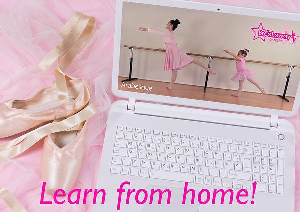 laptop pic arabesque ballet landscape wi