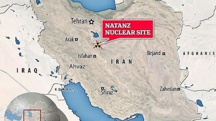 Assessores de Trump o impediram  de atacar usina nuclear do Irã em seus últimos dias de mandato
