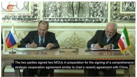 Irã e Rússia devem assinar acordo estratégico abrangente