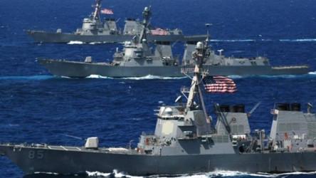 Marinhas dos países da OTAN estão tentando arranjar um  bloqueio à frota russa no Oceano Atlântico