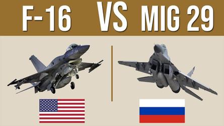 O caça MiG-29 russo foi capaz de derrotar o F-16 americano em batalha