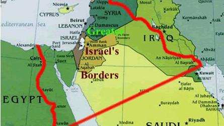 """A Grande Israel: Um Plano Sionista para o Oriente Médio - O """"Plano Oded Yinon"""""""