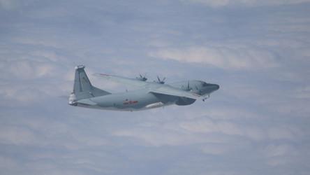 Avião militar de guerra eletrônica chinês entrou na zona de identificação de defesa aérea de Taiwan