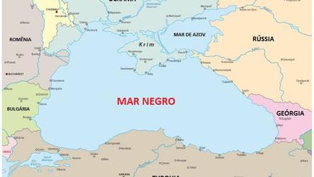 Marinha russa rastreia quatro navios da OTAN no Mar Negro
