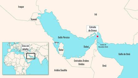 Irã usa seu controle sobre o Estreito de Hormuz para lutar contra as sanções impostas pelos EUA