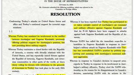 Uma Resolução foi apresentada ao Congresso dos EUA para expulsar a Turquia da OTAN