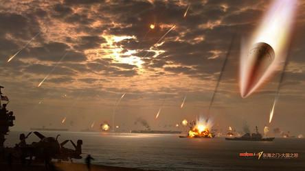 Relatório: Mísseis 'assassinos de porta-aviões' chineses atingiram o navio-alvo em agosto