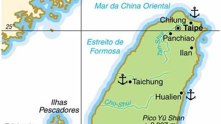 Caça chinês monitorou destroier dos EUA no Estreito de Taiwan