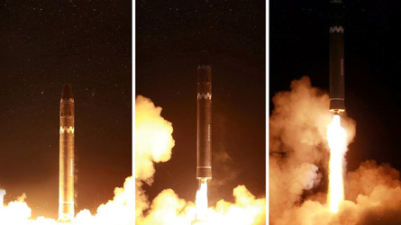 National Interest: Míssil intercontinental Hwasong-15: A verdadeira ameaça da Coreia do Norte?