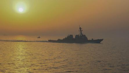 A Marinha dos EUA não possui navios de combate