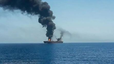 "Primeiro drone kamikaze iraniano contra navio-tanque israelense - Gantz jura ""resposta apropriada"""