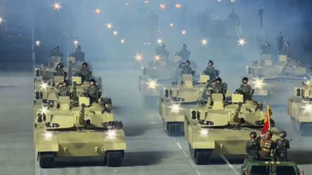 Mídia americana alega que Rússia entregou modernos tanques T-14 Armata à Coreia do Norte