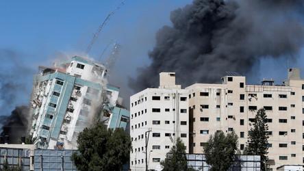 EUA: Israel ainda não mostrou provas que o Hamas operava na torre de mídia em Gaza