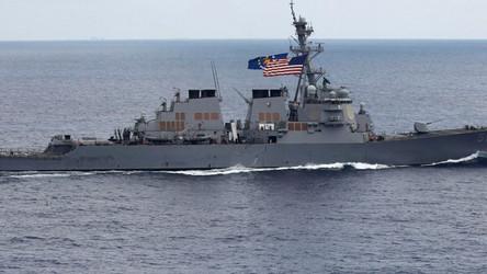Marinha dos EUA aos russos: 'Não reconhecemos suas fronteiras'