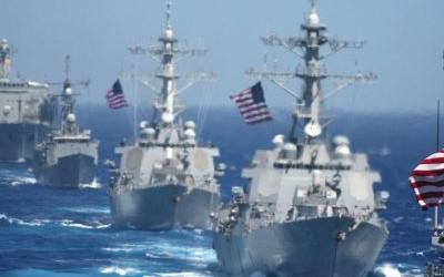 6 navios militares russos expulsaram 11 navios dos EUA e Japão de seus próprios exercícios militares