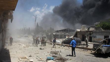 Jihadistas turcos bombardeados na Síria - o próximo aviso à Turquia será mais pesado