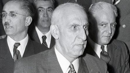 Há 7 anos aCIA admitiu golpe no Irã em 1953 contra Mosaddeq com ajuda britânica