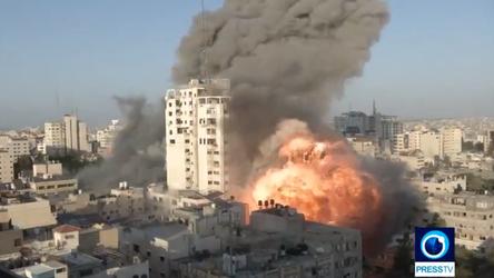 As tensões aumentam em Gaza à medida que os ataques aéreos israelenses continuam