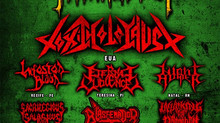 UNDERGROUND METAL FEST - Toxic Holocaust (EUA) + Infested Blood (PE) + Eternal Violence (PI) + Night