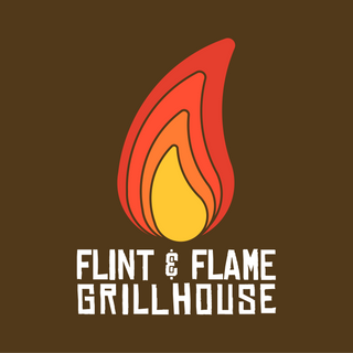 A selection from a 30 day logo challenge. This was a for a grill house.   I went with a rustic font and warmer earth tones to give a comforting feeling.