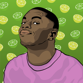 A fun portrait of one of my favorite rappers, Vince Staples!